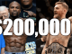 200k Placed on Conor McGregor with Sportsbet.com.au