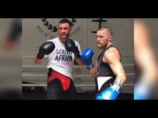 McGregor Sparring