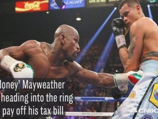 Floyd Mayweather Jr Fighting to Pay Tax Debt