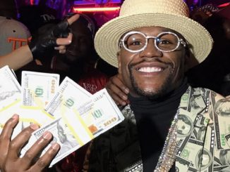 "Floyd ""Money"" Mayweather Betting on... Himself"