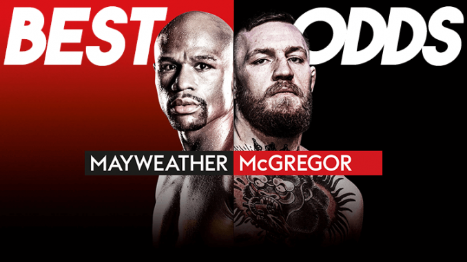 Best Odds Mayweather McGregor
