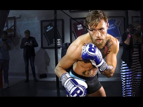 conor mcgregor boxing training